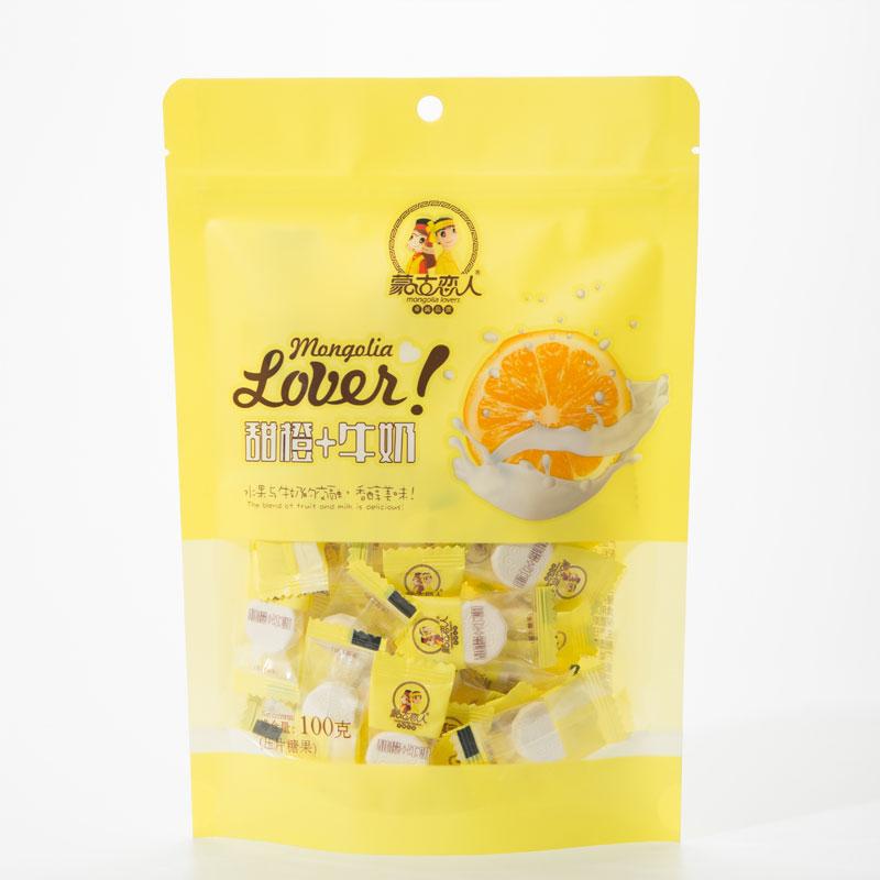 果味668成 人网 站免费片(蒙古恋人 袋装)100克 甜橙+牛奶