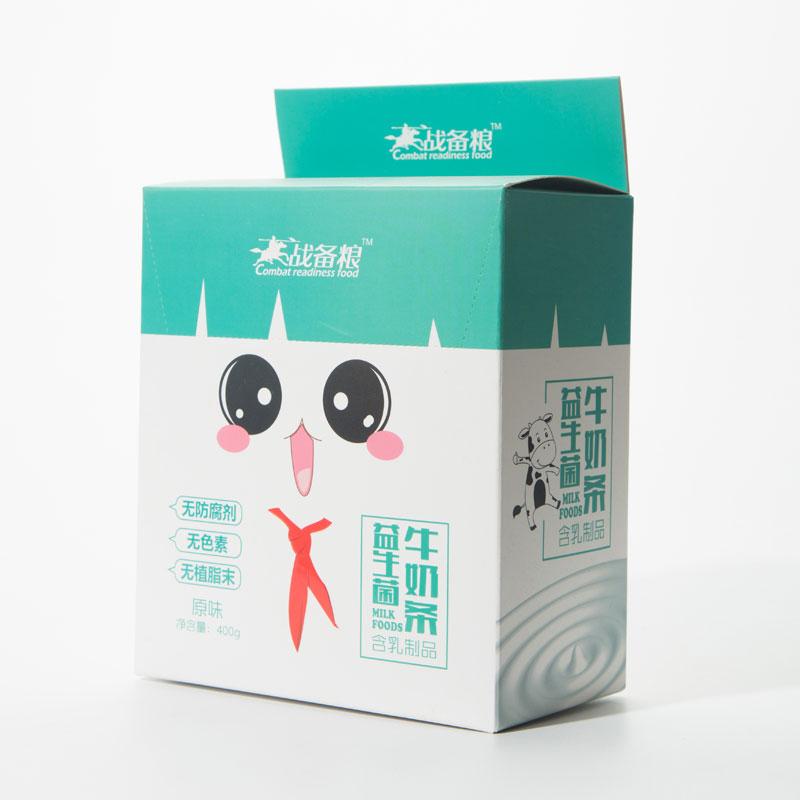 益生菌牛奶條     (戰備糧 盒裝) 400克 原味