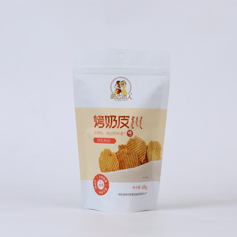 烤奶皮 袋裝  48g 燕麥