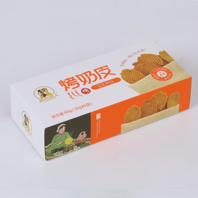 烤奶皮 盒装 60g 燕麦