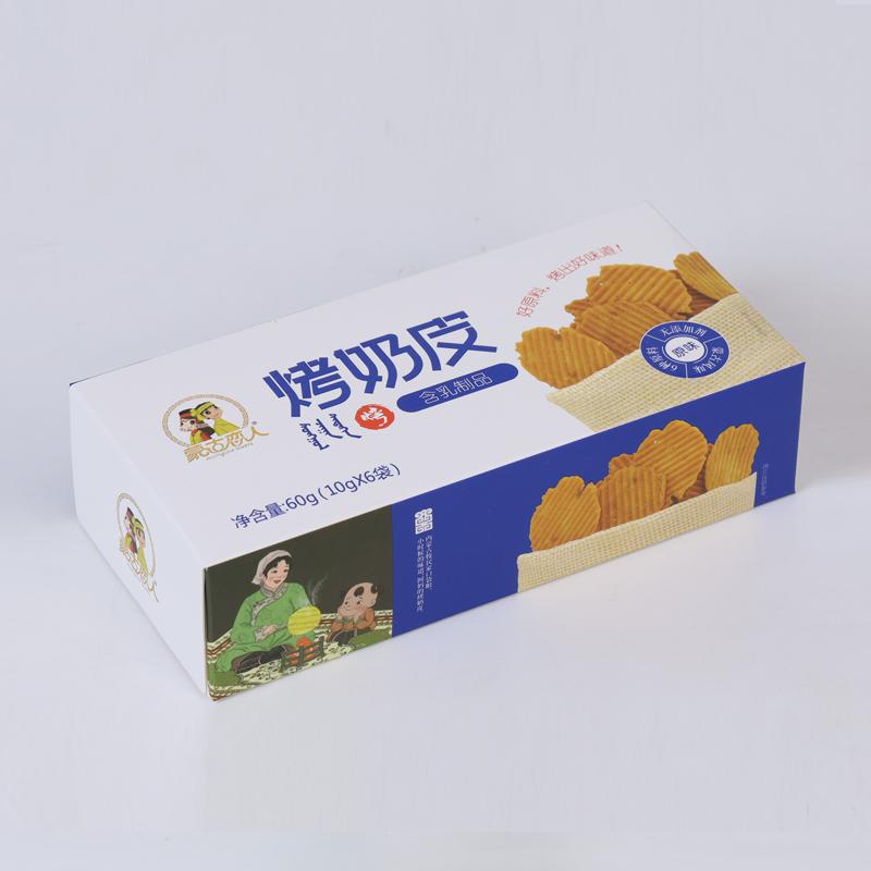 烤奶皮 盒裝 60g 原味