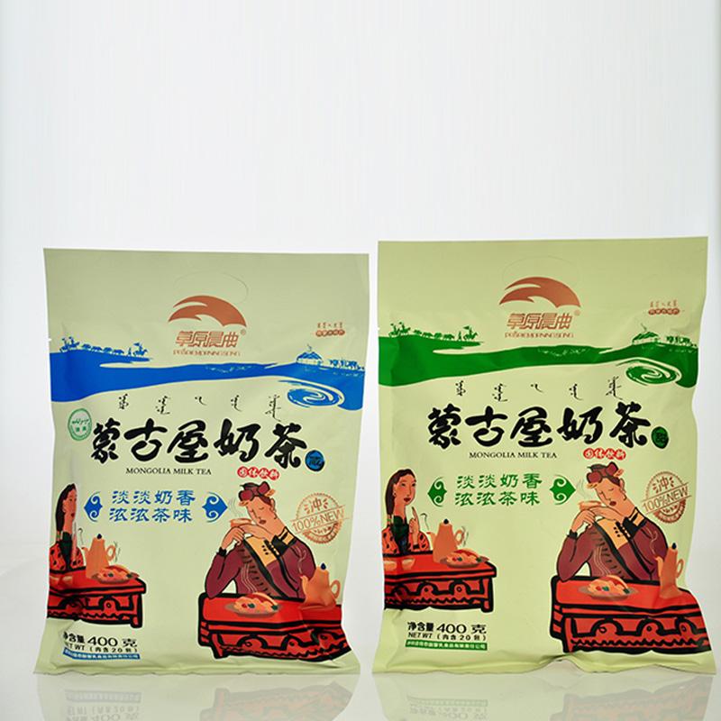 蒙古屋奶茶-草原晨曲-400g  甜味